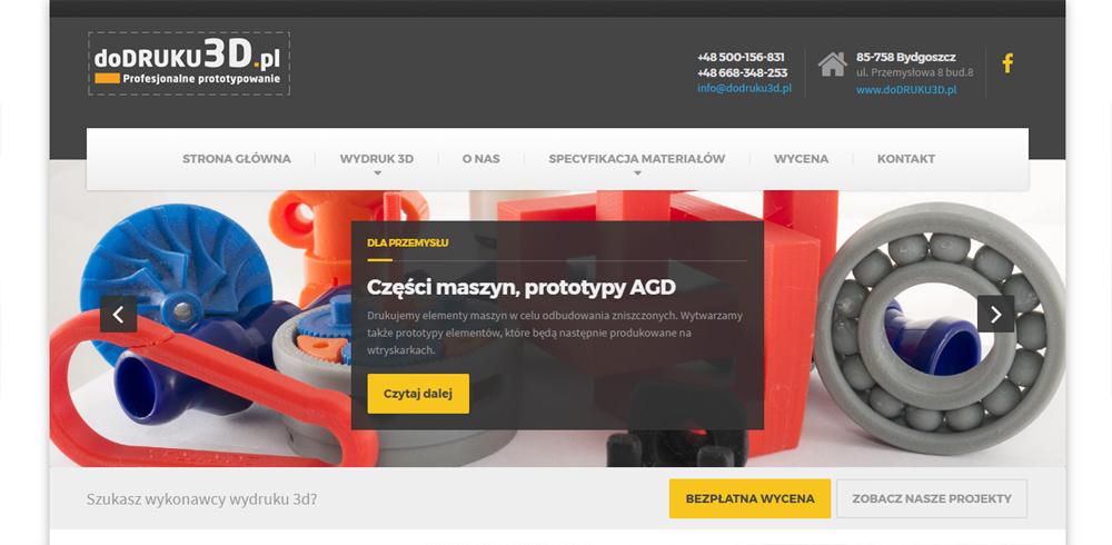 Dodruku3D.pl - Wydruki 3D, prototypowanie