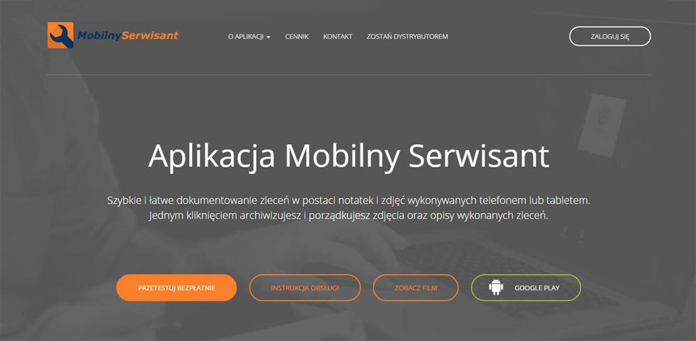 Mobilnyserwisant.pl - łatwe i szybkie dokumentowanie zleceń telefonem
