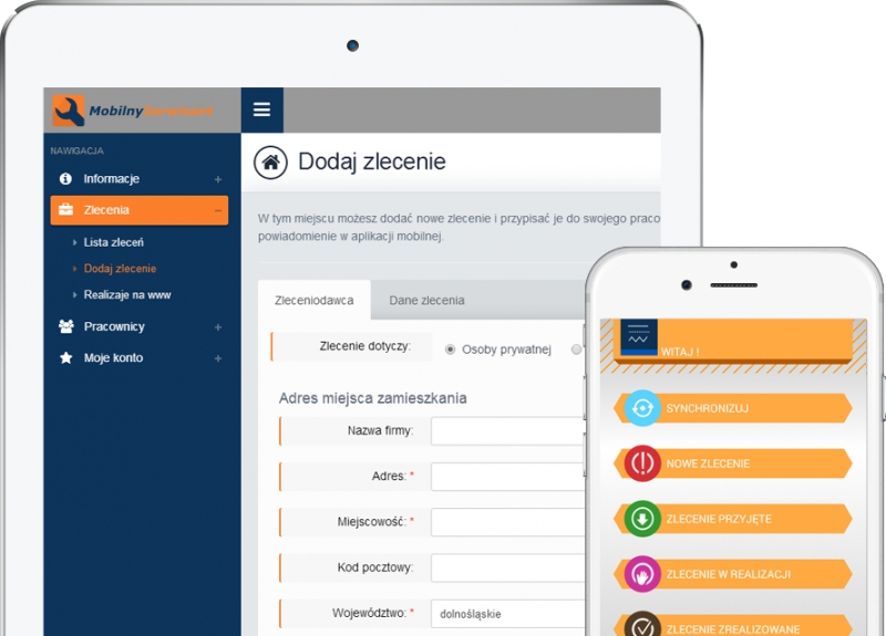 Mobilnyserwisant.pl - tablet i telefon