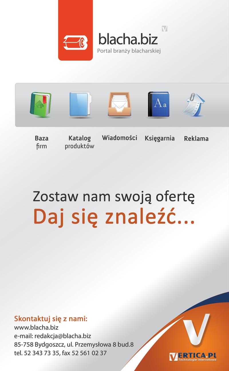 Blacha.biz - portal branży blachy