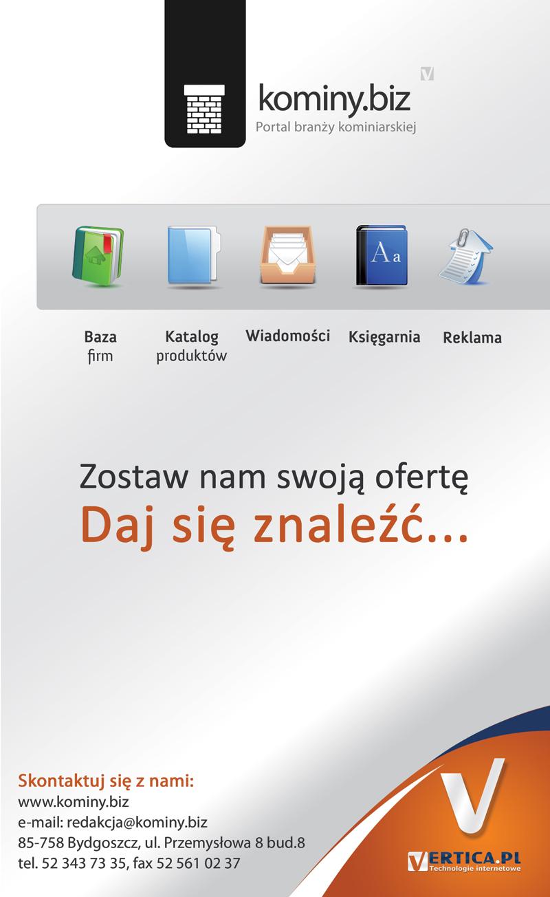 Kominy.biz - portal branży kominiarskiej