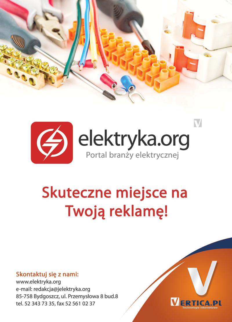 Ulotka reklamowa - elektryka.org
