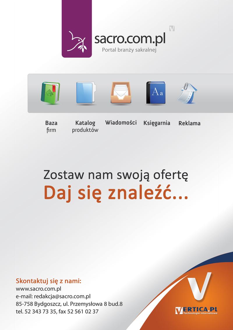 Sacro.com.pl - portal branży sakralnej