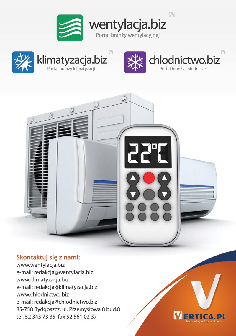 Ulotka reklamowa - klimatyzacja.biz